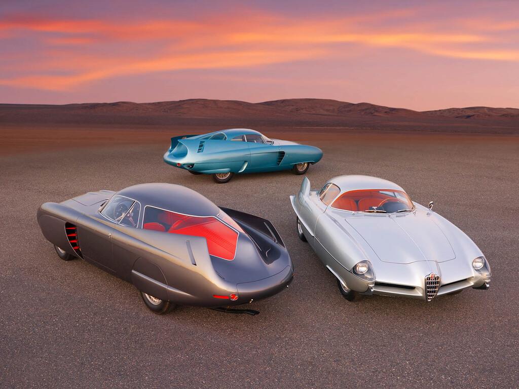 Los tres Alfa Romeo BAT cambian de dueño por 14,8 millones de dólares en una subasta de arte contemporáneo