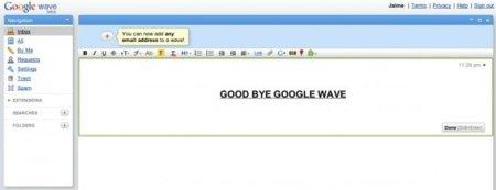 Adiós Google Wave: el proyecto es abandonado