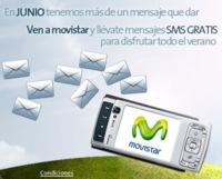 Mensajes gratis en verano, en la tienda online de Movistar