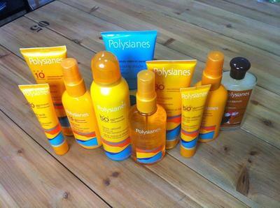 Polysianes: solares de farmacia con olores y texturas increíbles