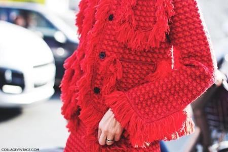 ¡Con mucha pasión! El rojo se impone en el street style