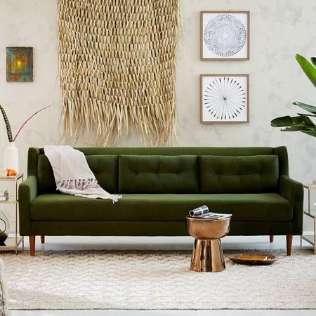 Porque un sofá verde es una buena elección