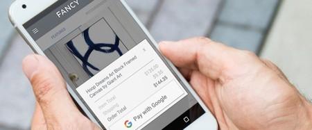 Pay with Google: un nuevo botón para agilizar las compras online desde Android o Chrome