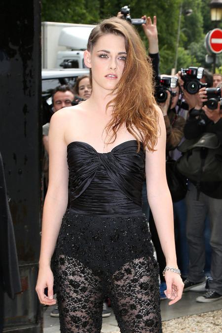 El peinado dos en uno de Kristen Stewart, ¡esto hay que intentarlo!