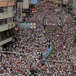 Cinco días, un millón de personas y mucha coordinación: la lucha de Hong Kong contra el control de China