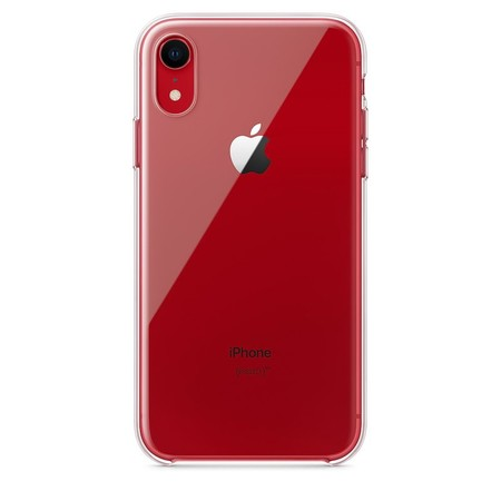 Funda Transparente Iphone Xr Rojo