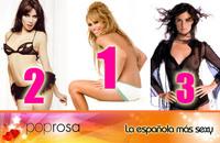 Las famosas españolas más sexys: resultados de nuestra encuesta