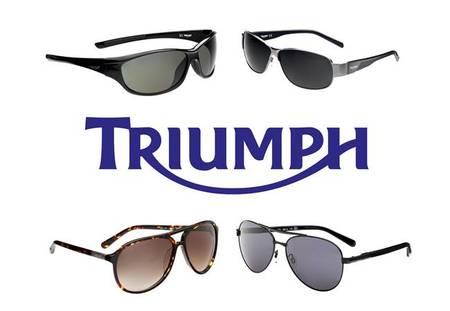 Triumph añade las gafas de sol a su catálogo de accesorios