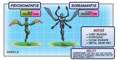 Villanos de videojuegos en plan Pokémon