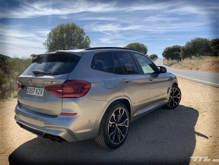 BMW X3 M 2020 trasera lateral