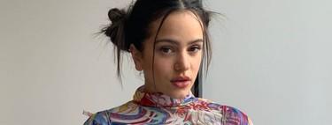 El último look de Rosalía rinde homenaje al mundo anime (nail art incluido)