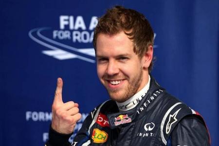 ¿Qué significa el dedo índice de Sebastian Vettel?