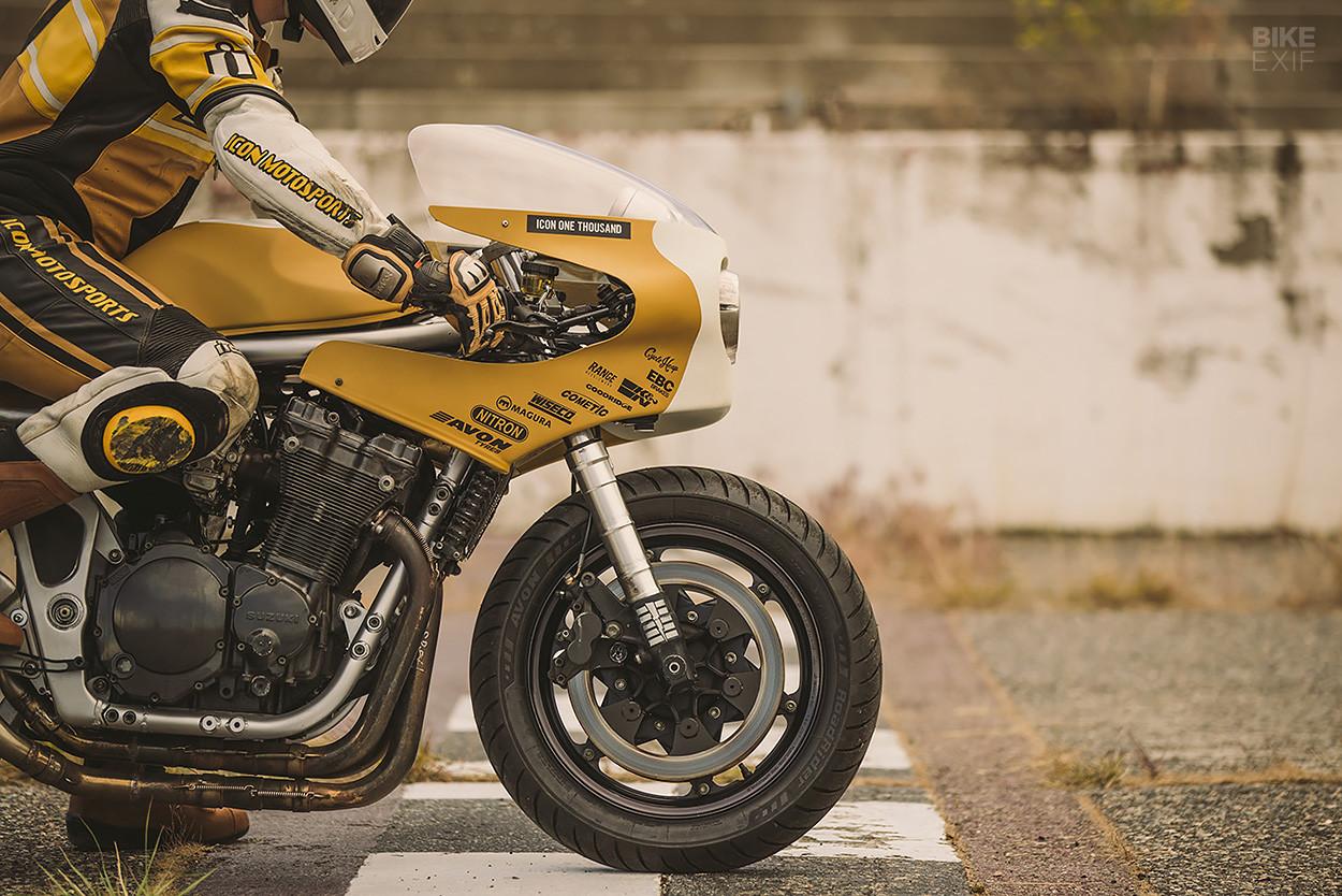 Foto de Colonel Butterscotch, una moto creada a partir de otras motos (6/12)