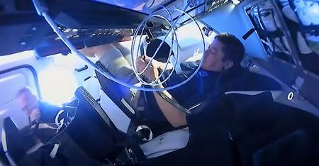 AirDrop protagoniza un curioso episodio en el vuelo de regreso de SpaceX desde la Estación Espacial Internacional