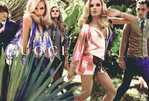 Foto de Gucci, campaña primavera-verano 2009 por Inez & Vinoodh (1/7)