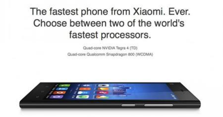 Ya están disponibles las primeras unidades con 64 GB del Mi3 de Xiaomi para el mercado internacional
