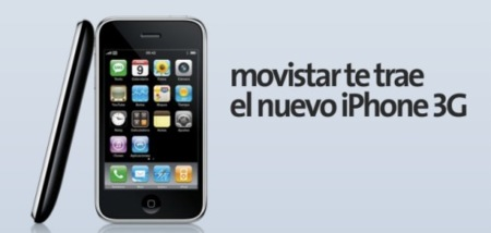 iphone3g movistar apple