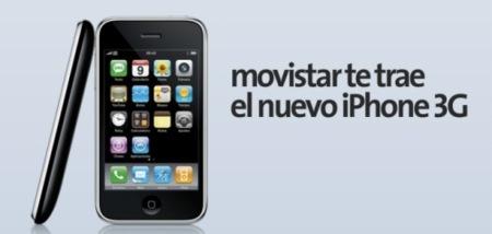 iphone3g movistar apple