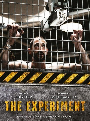'The Experiment' con Adrien Brody, cartel