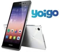 Precios Huawei Ascend P7 con Yoigo y comparativa con Orange y Amena