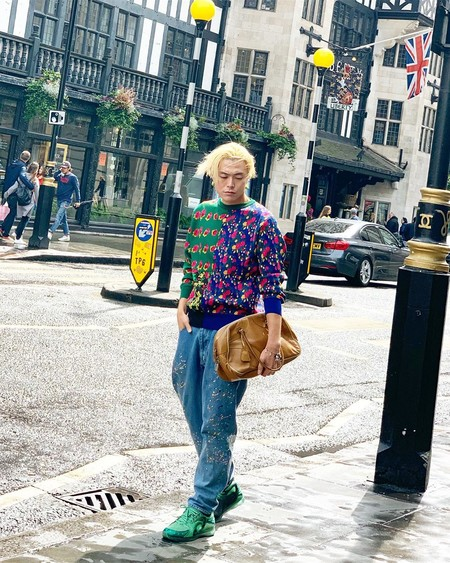 London Fashion Week Mens Street Style 2020 12
