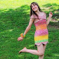 Las envolturas de los dulces dan vida a este maravilloso vestido