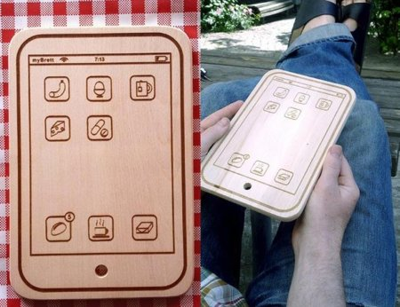 myBrett, tabla de cortar estilo iPhone