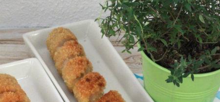 Espirales de salchichas empanadas. Receta divertida para niños