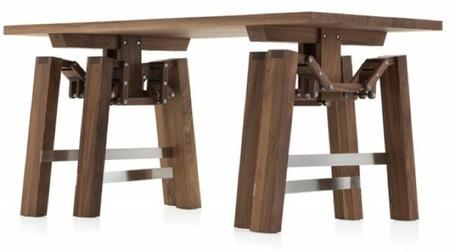 Una buena idea: una mesa que anda