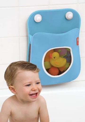 Tubby de Skip Hop: organizador de neopreno para los juguetes del baño