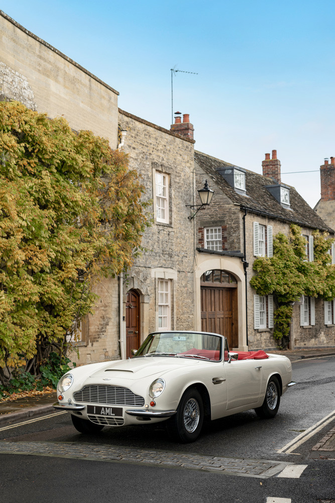 Foto de Aston Martin Heritage EV Concept (8/16)