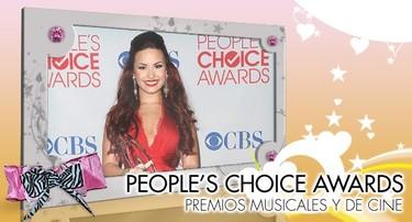 People's Choice Awards 2012: ¡Marchando una de premios de cine y música!
