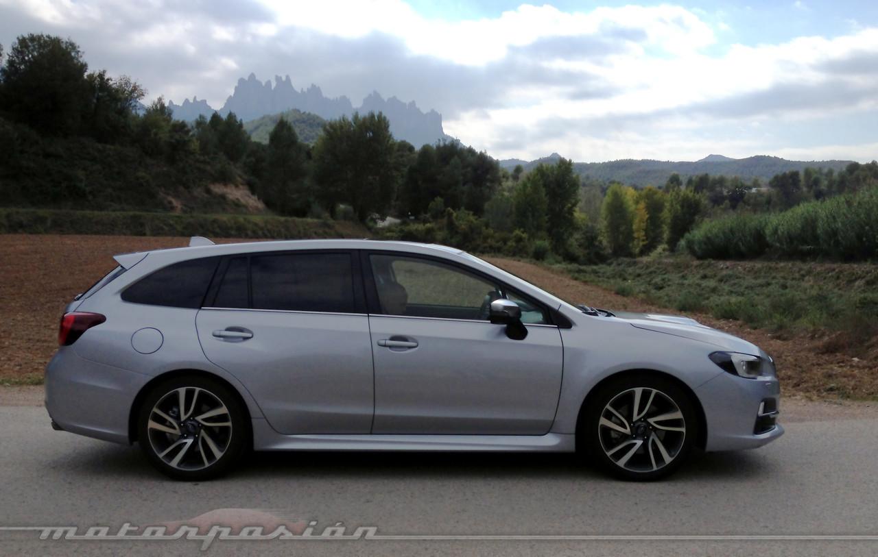 Subaru Levorg - contacto