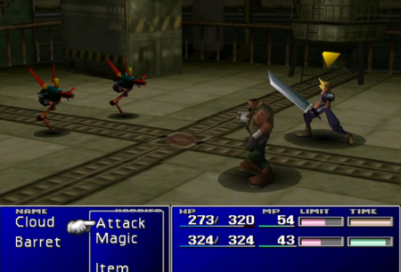 Un usuario de Final Fantasy VII se ha dedicado a farmear dos años con Cloud y Barret sin pasar del primer reactor