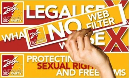La censura en la red impulsa al Partido del Sexo en Australia