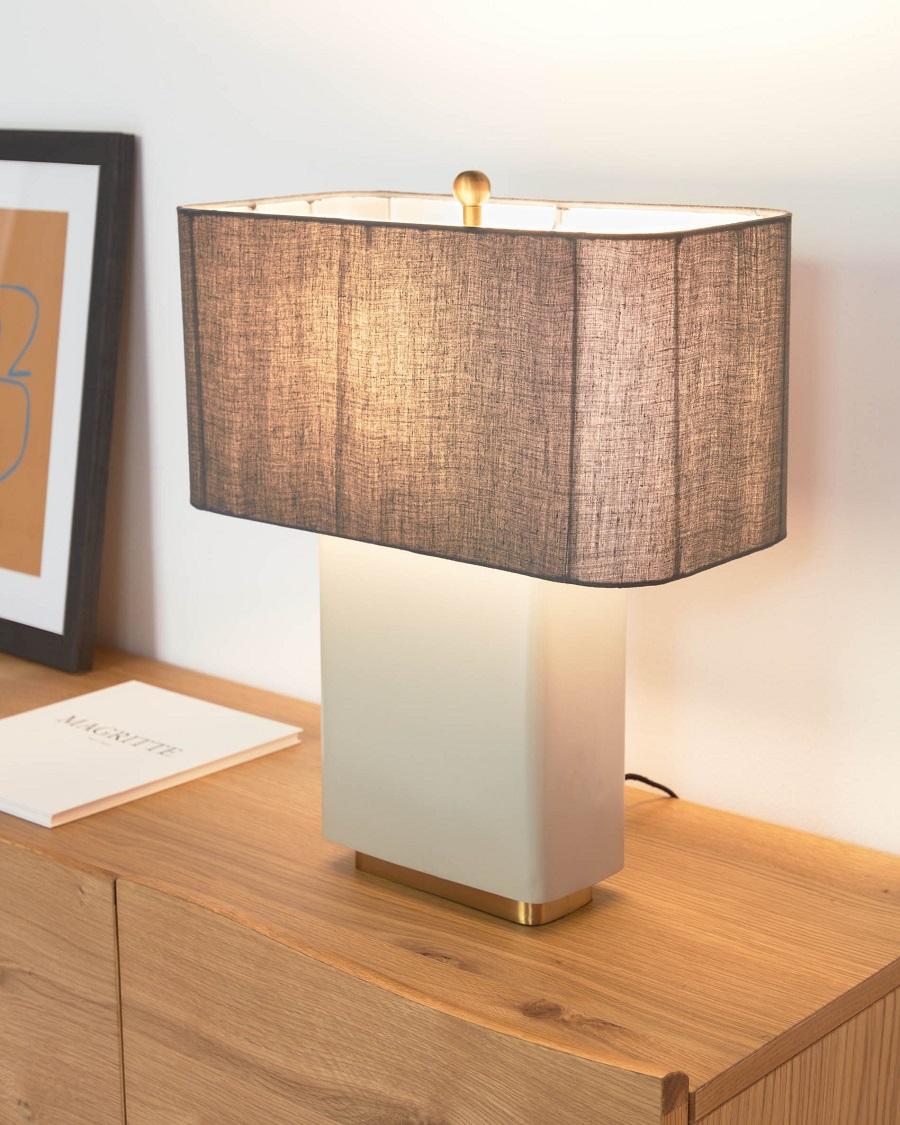 Lámpara de mesa Clelia