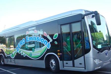 La EMT de Madrid pone en servicio de pruebas al bus eléctrico BYD K9