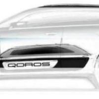 Qoros 2 SUV Concept, camino del Salón de Shanghái