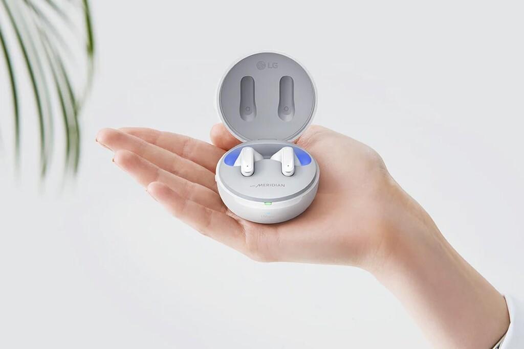 LG Tone Free DFP8W: auriculares TWS con caja desinfectante y hasta 24 horas de autonomía