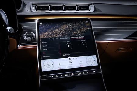Mercedes Benz Clase S 2021 Teaser Interior 008