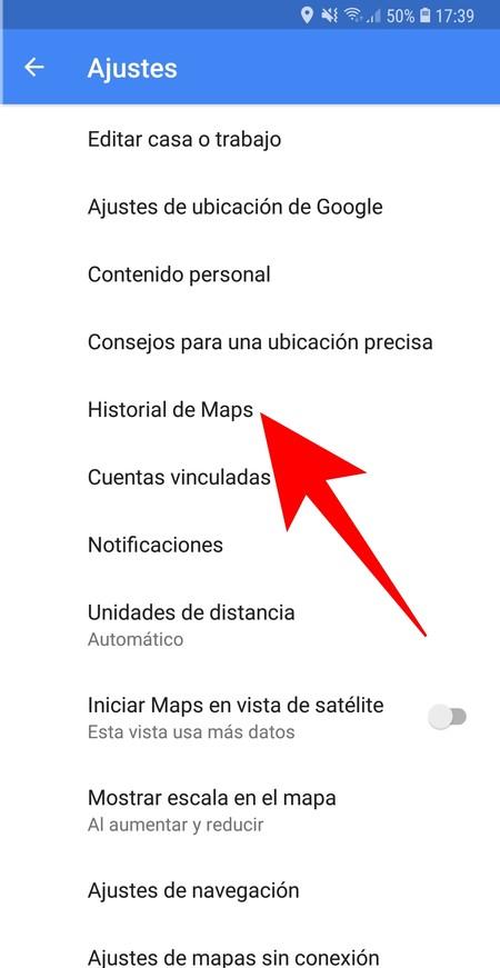 Historial De Maps