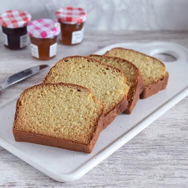 Cómo hacer pan de sándwich con solo dos ingredientes: receta exprés sin amasar y sin levadura