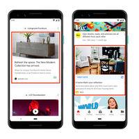 Google quiere llenar tu smartphone de publicidad: habrá anuncios en la app de Google, en la búsqueda, en Discovery y hasta YouTube