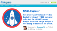 La Imagen de la Semana: Foursquare permite hacer check-ins en la Estación Espacial Internacional