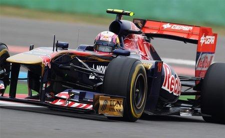 Jaime Alguersuari, contento con las mejoras de Toro Rosso