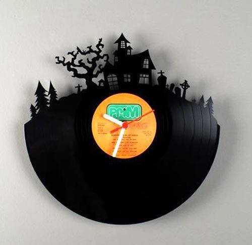 La hora del disco de vinilo - Reloj vinilo pared ...