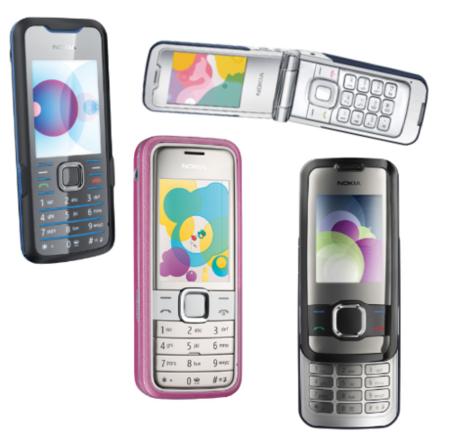 Nokia Supernova: Nokia 7210, 7310, 7510 y 7610