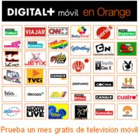Digital + móvil gratis durante el primer mes con Orange
