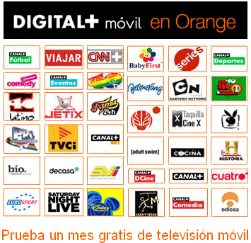 Digital + móvil gratis durante el primer mes con Orange