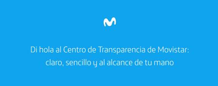 Movistar Centro Transparencia